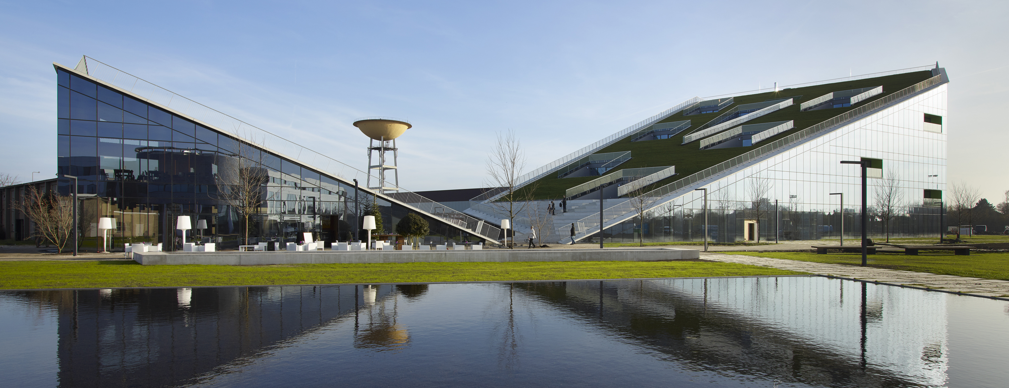 Architecture And Landscape Become One Corda Campus Eld